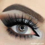 لنز رنگی دسیو smoky grey