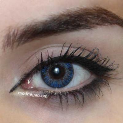 لنز رنگی فرشلوک true sapphire
