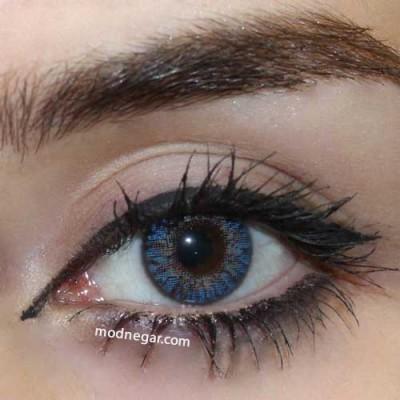 لنز رنگی ایراپتیک آبی blue
