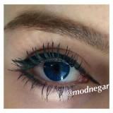 لنز رنگی بوش اند لومب توپاز آبی روشن