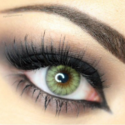 لنز رنگی دسیو forest green